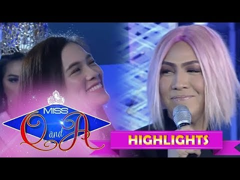 It's Showtime Miss Q & A: Vice Ganda is flattered by Jackque's TWBA interview