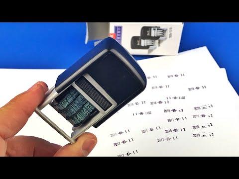 ✅ Date Rolling Office Stamp Trodat From AliExpress