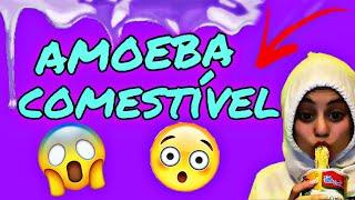 Como fazer amoeba comestível