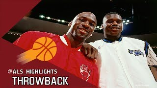 Michael Jordan vs Rookie Shaquille O'Neal Duel 1993.01.16 - Shaq With 29 Pts/24 Rebs, 64 for MJ!