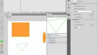 Работа с библиотекой в Adobe Flash CS4 (31/46)