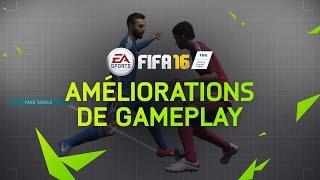 FIFA 16 Améliorations de gameplay : Défense, Milieu de Terrain, Attaque