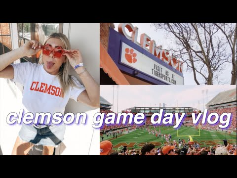 Being a Clemson Student for the Weekend   tour & game day!