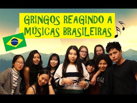 GRINGOS REAGINDO A MÚSICAS BRASILEIRAS | PARTE 1 |
