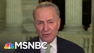 Chuck Schumer: Jeff Sessions Vote 'Turned My Stomach' | Rachel Maddow | MSNBC Free HD Video
