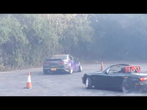 Kye Drifting In A 500bhp Skyline R34 At Old Post Office Cruise
