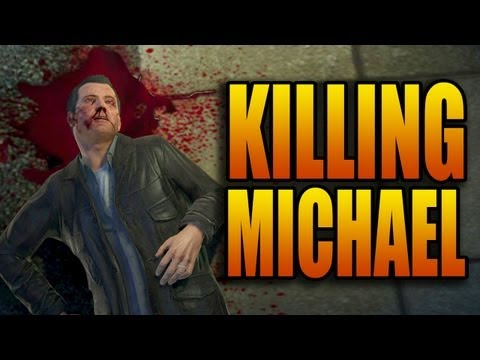 Grand Theft Auto 5  Part 58  Kill Michael Ending Option B End Gameplay