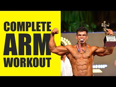 Full Bicep/Triceps Workout | Complete Exercise For Bigger Arms