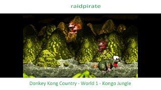 Donkey Kong Country - World 1 - Kongo Jungle