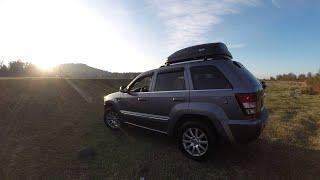 Тест обзор Jeep Grand Cherokee WK.  Отзыв о Джип Гранд Чероки.  Катаемся в Грузии .