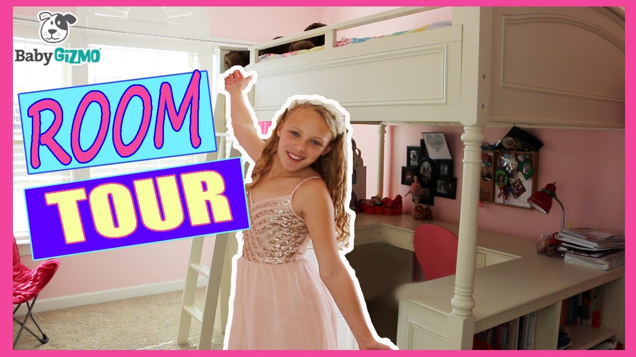 My Room Tour With Loft Youtube