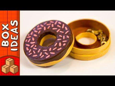 DIY Miniature Doughnut Gift Box   Craft Ideas For Kids on BoxYourself