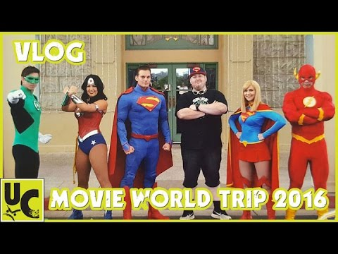 Movie World Trip 2016: Life's a Chunt Vlog
