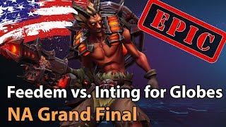 ► Heroes of the Storm NA: Team Feedem vs. Inting for Globes - Grand Final HeroesHype