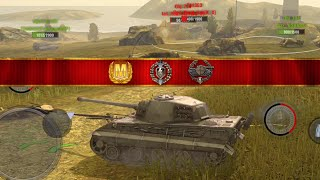 World of Tanks Blitz - E75 aced