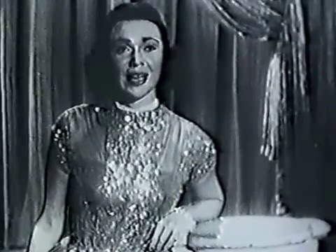 Kitty Kallen--Little Things Mean a Lot, 1955 Perry Como TV