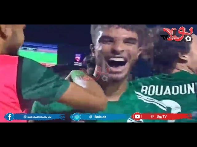 كأس العرب أقل من 20 سنة.  الجزائر تكتسح تونس و جاهزة للسعودية