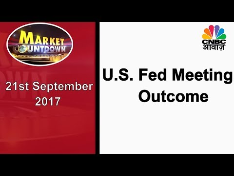 U.S Federal Reserve ने दरों में नहीं किया कोई बदलाव   Market Countdown   CNBC Awaaz