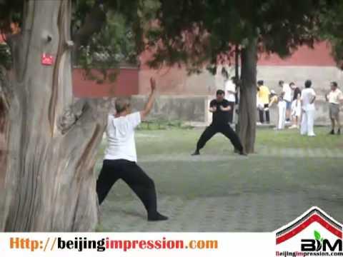 Morning Exercise at Beijing Tiantan Park
