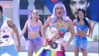 Rodrigo Faro vira Katy Perry no Dança Gatinho deste sábado (29)