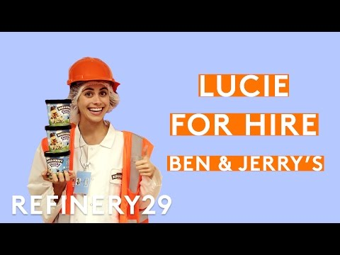 Lucie Fink Creates A New Ben & Jerry's Flavor | Lucie For Hire | Refinery29