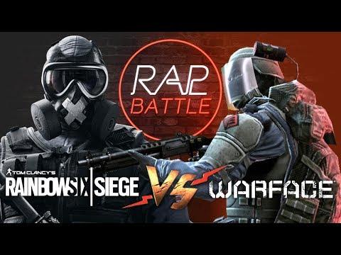 Рэп Баттл - Warface vs. Rainbow Six: Siege (Реванш) thumbnail