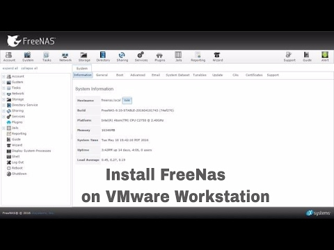 How To Install FreeNas On VMware Workstation 12