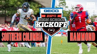Southern Columbia (PA) vs. Hammond (SC) Football - ESPN Broadcast Highlights