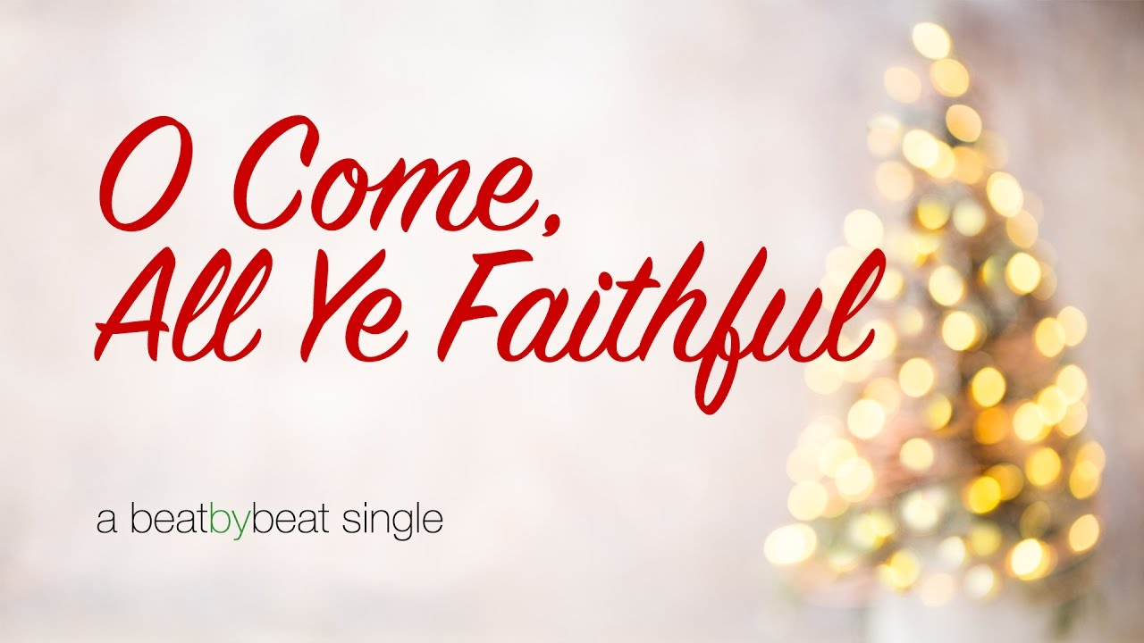 O Come All Ye Faithful - Karaoke Christmas Song - YouTube