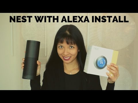 Nest Thermostat Install with Alexa / Amazon Echo How To