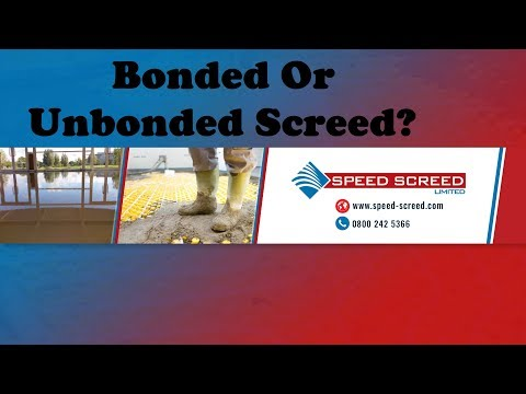 Bonded or Unbonded