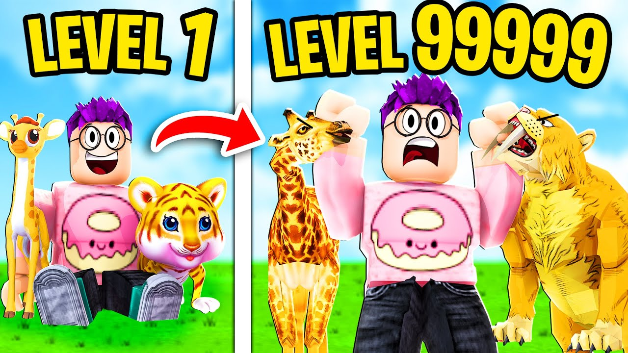 Download Can We Build A MAX LEVEL ZOO In ROBLOX?! (EVERY RARE ANIMAL UNLOCKED!)