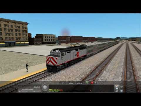Train Simulator 2017 HD: Caltrain Round-trip Time-lapse Between Gilroy & San Jose (3rd Party WIP)