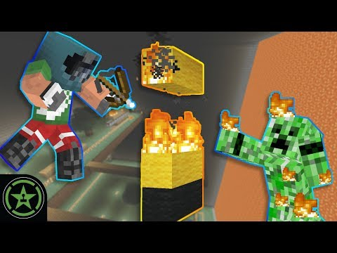 Woke Up On Fire - Minecraft - Lava Wall X (#325) | Let's Play