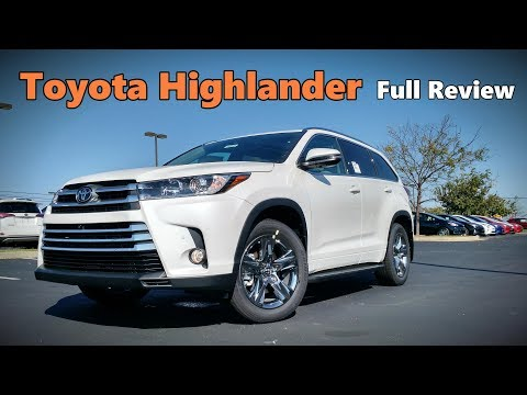 2018 Toyota Highlander: Full Review | Platinum, Limited, SE, XLE, LE Plus & LE