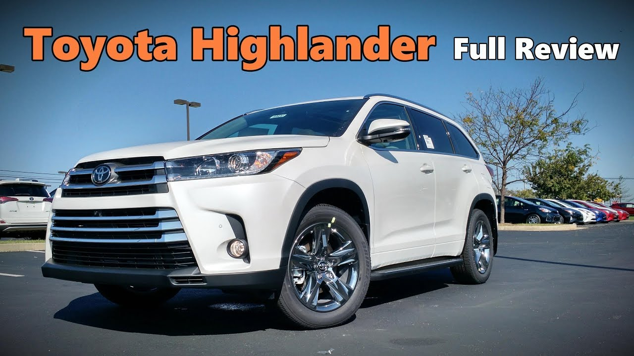 2018 toyota highlander limited. plain 2018 2018 toyota highlander full review  platinum limited se xle le plus u0026  for toyota highlander limited