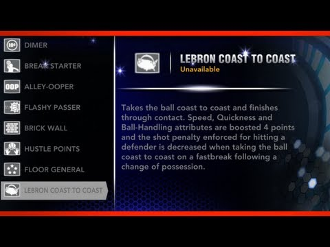 NBA 2K14 The New Signature Skills!