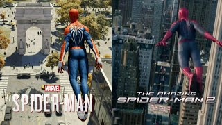 SPIDERMAN PS4 - RECREATING THE AMAZING SPIDERMAN | PART 2