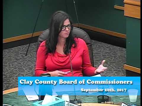 B170926A -09/26/17 - Clay County MN Board of Commissioners