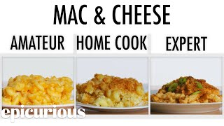 Download 4 Levels of Mac and Cheese: Amateur to Food Scientist | Epicurious Mp3 and Videos