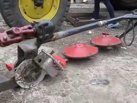косилка роторная своими руками КР-1А на мини трактор