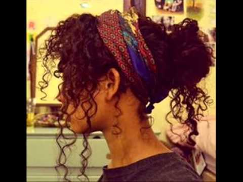 Cute Hairstyles For Mixed Girls Youtube