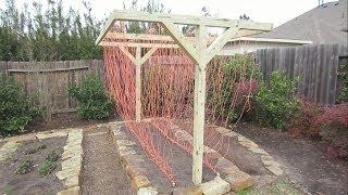 Mary's Garden: T-frame Installation