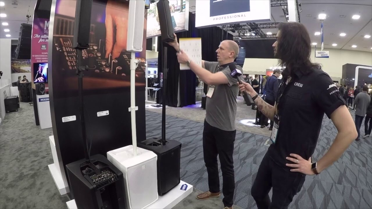 NAMM 2018 | New RCF EVOX J8 & J8 MIX - Portable PA System