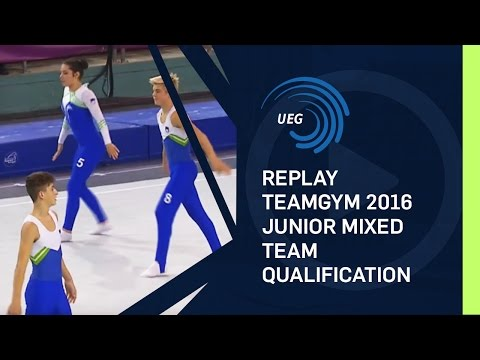 REPLAY - 2016 TeamGym Europeans - Junior mixed team qualification (12 Oct 2016)