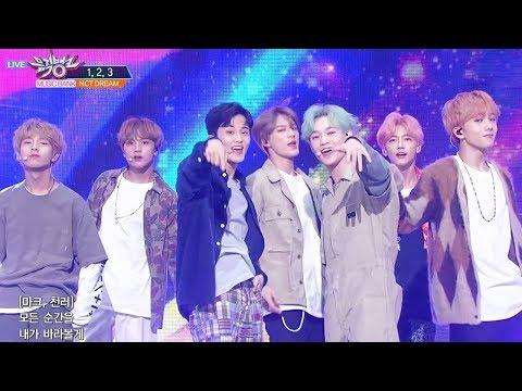 NCT Dream - 1, 2, 3 [Music Bank Ep 944]