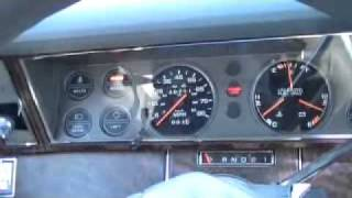 1987 Plymouth Caravelle test drive