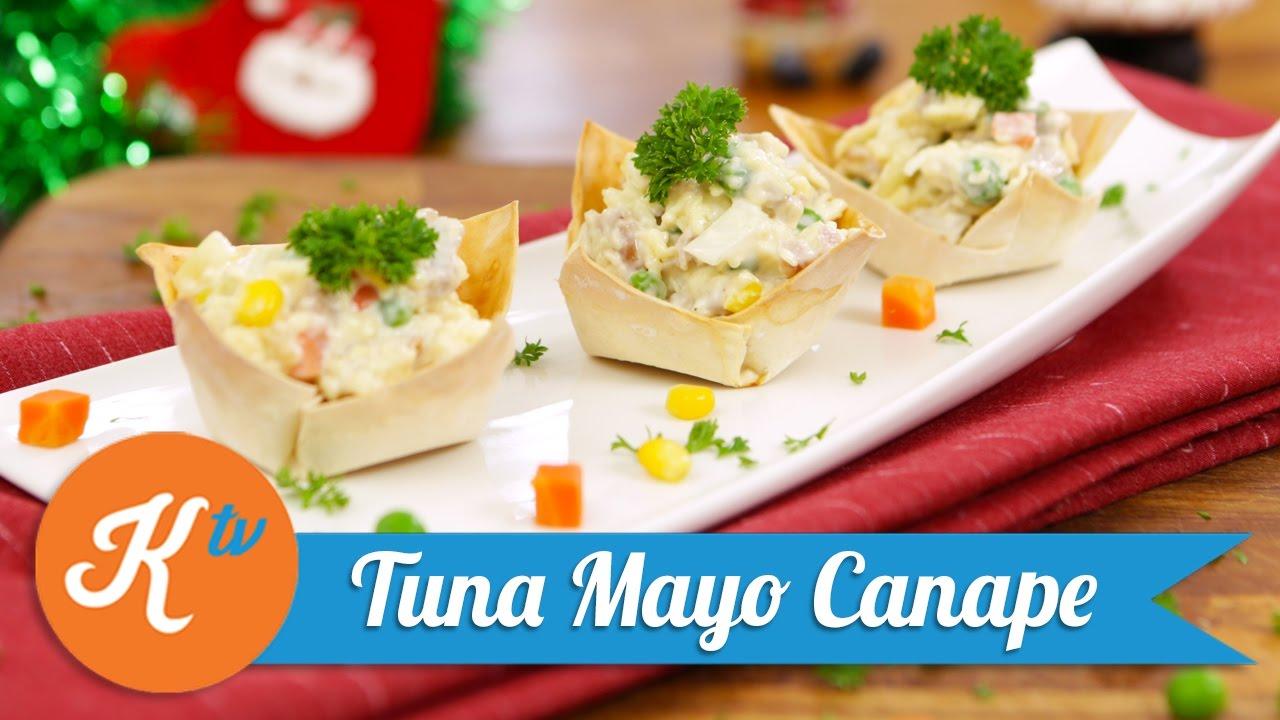 resep tuna mayo canape mega lestary youtube. Black Bedroom Furniture Sets. Home Design Ideas