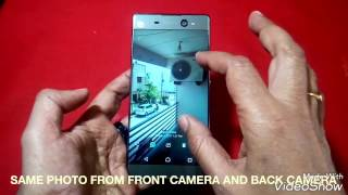 SONY XPERIA XA ULTRA DUAL CAMERA QUALITY TEST IN HINDI