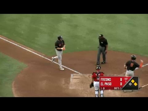 Fresno's Reed blasts third homer in three games